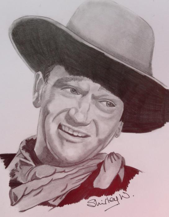 John Wayne by shirleyann58